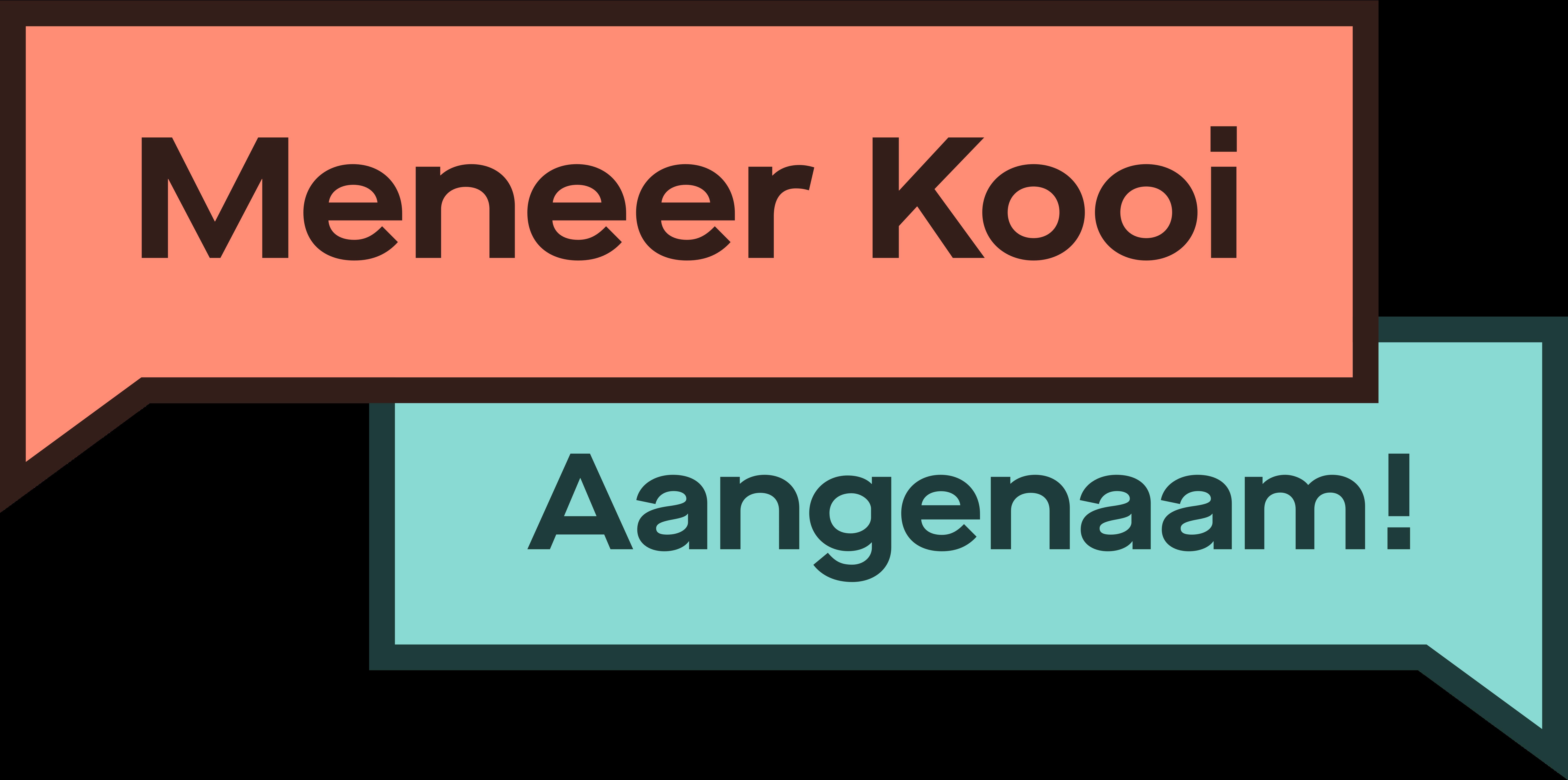 Meneer Kooi-logo